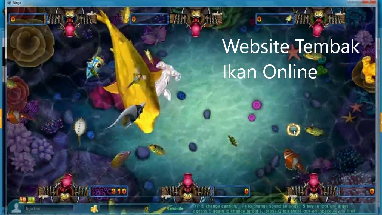 Keseruan Situs Tembak Ikan Online Di Tanah Air